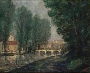 Motiv Från Paris 1927 by Gösta NORDBLAD