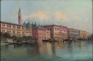Motiv Från Venedig by Karl KAUFMANN