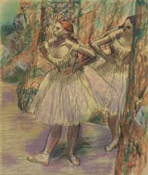 Danseuses by Edgar DEGAS