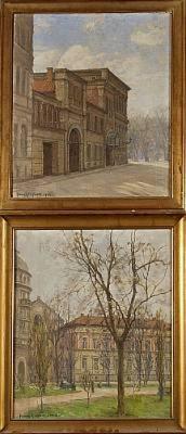 Wallenbergska Huset Och Barclayska Huset by Fanny Maria KLINGBOM