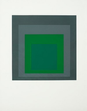Hommage Au Carré by Josef ALBERS