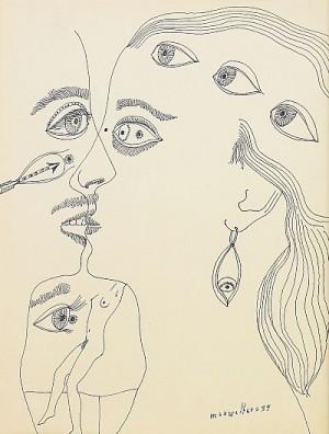 ögonens Budskap by Max Walter 'Max Walters' SVANBERG