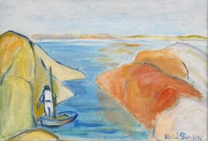 I Havsviken - Nära Islandsberg Och Gullholmen by Karin PARROW