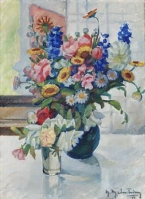 Blommor I Vas by Henning MALMSTRÖM