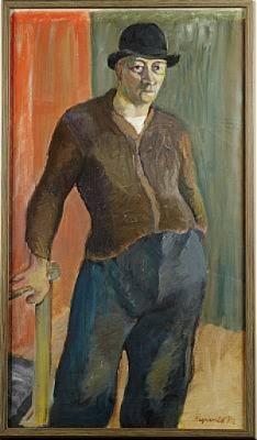 Herrporträtt by Ragnvald 'Ragnvald M' MAGNUSSON