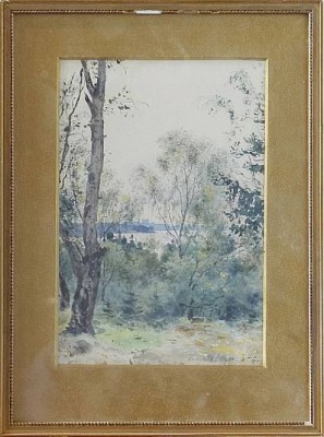 Landskapsmotiv by Albert Theodor GELLERSTEDT