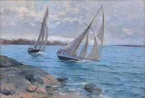 Sailing by Elin 'E Dson' DANIELSON-GAMBOGI