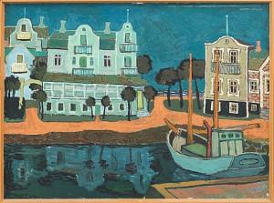Hus Vid Hamn by Martin EMOND