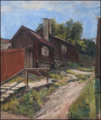 Från Sågaregatan, Söder by Helmi SJÖSTRAND