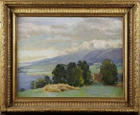 Landskap Från Westanå by Brita NAESS