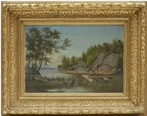 Den Gamla Bryggan by Carl August FAHLGREN
