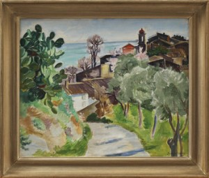 Cagnes 1923 by Birger SIMONSSON