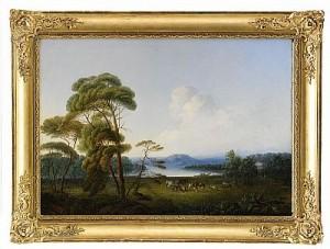 Pastoralt Landskap by Pehr Gustaf Von HEIDEKEN