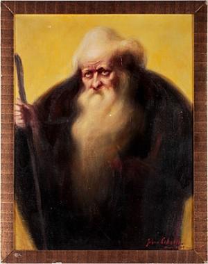 Porträtt Av Munk by Johan LEKSELL