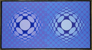 Tewe - Dva by Victor VASARELY