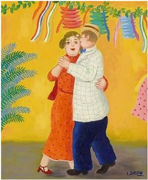 Dansande Par by Lennart JIRLOW
