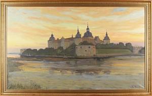 Kalmar Slott by Ragnar SWAHN