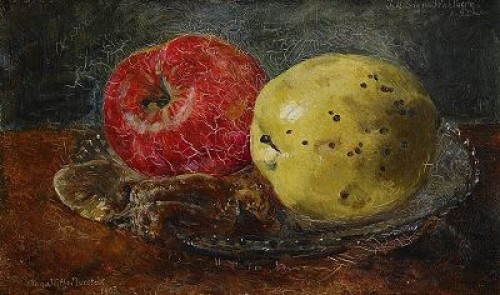 Stilleben Med äpplen by Anna MUNTHE NORSTEDT