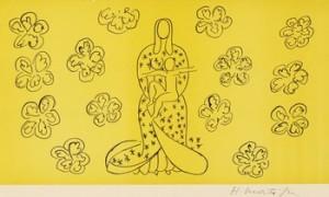 Vierge à L'enfant Debout by Henri MATISSE