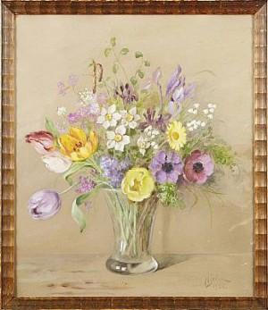 Blomsterstilleben by Fanny HJELM