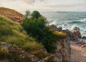 The Sea Shore by Berndt LINDHOLM