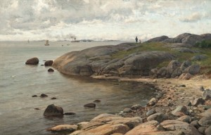 View From The Coast by Berndt LINDHOLM