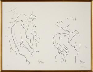 älskande Par by Jean COCTEAU