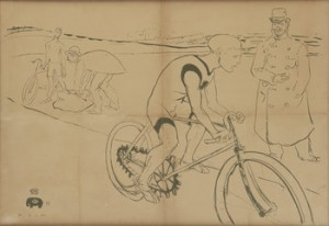 Cycle Michael by Henri De TOULOUSE-LAUTREC