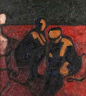 Kvinnorna Vid Brunnen by Evert LUNDQUIST