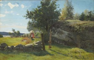 Solig Höstdag by Olof KRUMLINDE