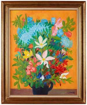 Blomsterstilleben by Lennart JIRLOW