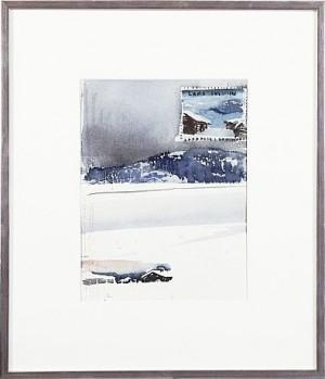 Vinterlandskap by Lars LERIN