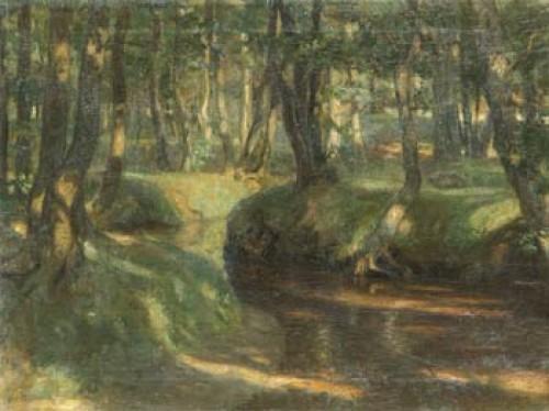 Skogsbäck by Nicholai Petrovich KRYMOV