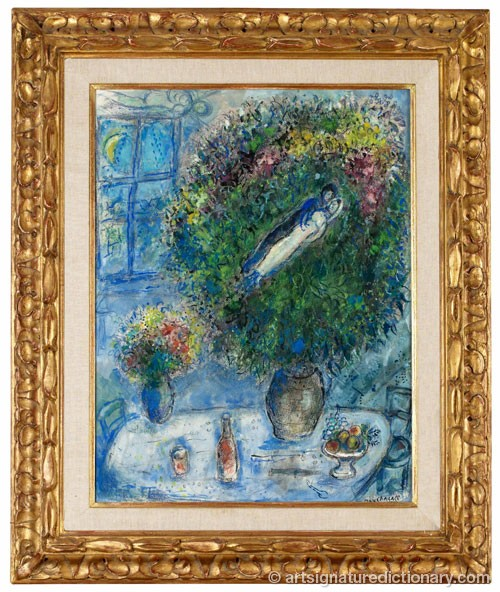 La Table by Marc CHAGALL
