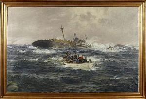 Skeppsbrott by Emil EKMAN