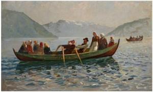 Sommerdag På Sognefjorden by Hans DAHL