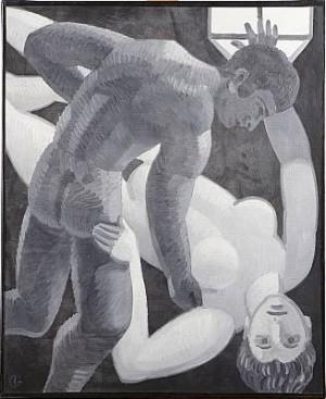 Kvinnorovet by Iván GRÜNEWALD