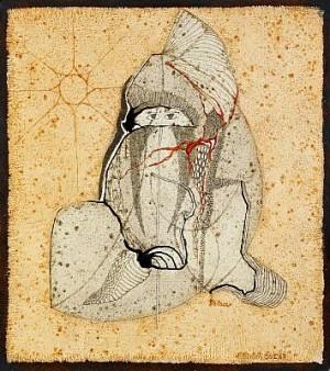 Babusjkan I Belen - Målning 26 I 67 by Thea EKSTRÖM