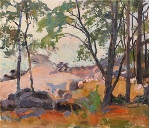 Landscape by Wilho SJÖSTRÖM