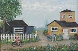 Cyklisten by Max MÜLLER