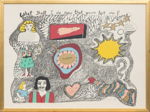 What Shall I Do Now That You've Left Me? by Niki De SAINT-PHALLE