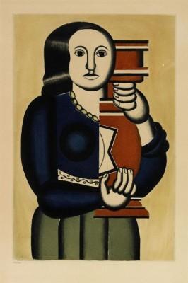 Femme á La Cruche by Fernand LEGÉR