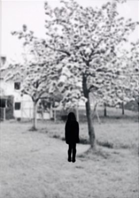 Untitled (girl And Tree) 1993 by Maria MIESENBERGER