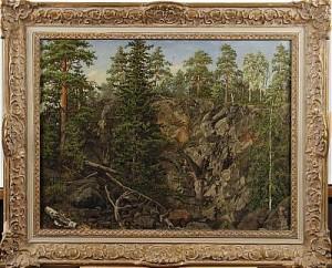 Skogslandskap by Per Daniel HOLM