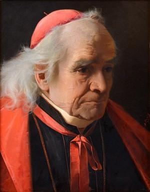 The Cardinal by Alexander Antonovich RIZZONI