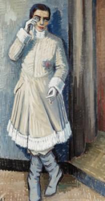 Skådespelerskan by Agnes CLEVE