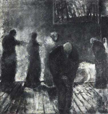 Begravningsgästerna by Tom KRESTESEN