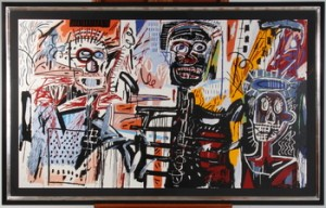 Homage A Basquiat by Richard RYAN