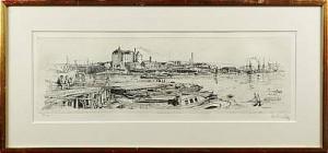 Liljeholmsbron by Uno STALLARHOLM