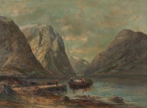 Fjords by Sigvard SIMENSEN